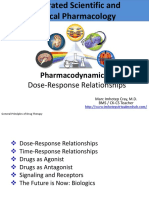 Pharmacodynamics II Dose Response Relationships