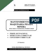 Mantenimiento de Maquinaria Pesada Minera 201620