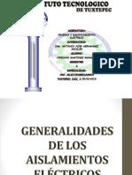1.5 Generalidades de Los Aisladores Electricos