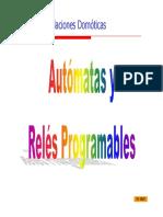 Autómatas y Relés Programables