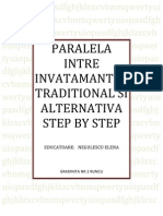 Paralela Intre Invatamantul Traditional Si Alternativa Step by Step