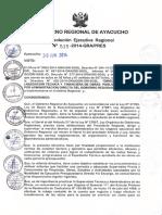 Directiva Liquidacion Tecnico Financiera Gra 2014