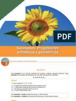 Sucesiones, Progresiones Aritmeticas y Geométricas