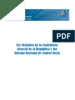 Ley Orgánica de La CGR y Del SNCF