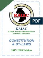 FINAL KAIAC Constitution 2017