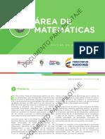 Malla Matemáticas - Versión Para Pilotaje