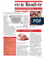 The Dyslexic Reader 2010 - Issue 56