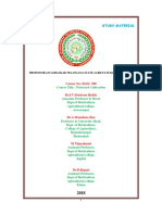 2018 Protected Cultivation Study Material by Dr.I.V.Srinivasa Reddy -9441168156