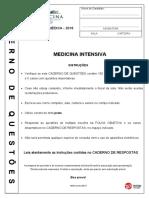 Residência Médica USP 2018 Medicina Intensiva