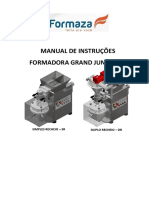 Manual de Instruções - Formadora Grand Junior 2.6