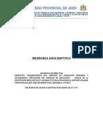 Memoria Descriptiva Ad4 15042017