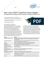 1000 Pt Quad Port Server Adapter Brief