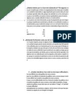 Analisis de Instruemntos Entrevista, Prueba Inicial