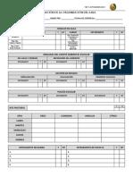 Evaluación de Organización de Aula