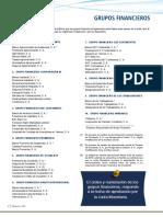 Lista de Grupos Financieros Diciembre 2017