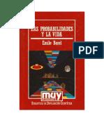 Borel Emile - Las Probabilidades Y La Vida.doc