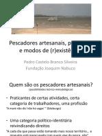 Pescadores artesanais, paisagens e modos de (r)existência