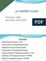 WA900 Sensors Limitations and Fault Code