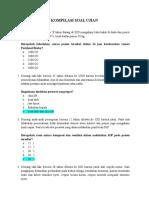 Kumpulan Soal Latihan Ukom 180 Soal Dan Jawaban