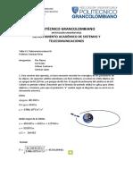 Telecomunicaciones III- Taller 1