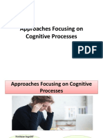 18605_Approaches Focusing on Cognitive Processes