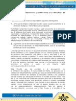 21 Evidencia 8 Taller, Dimensiones y Contribuciones de La Cultura Física Del Desarrollo Humano