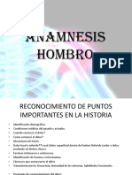 Anamnesis Hombro