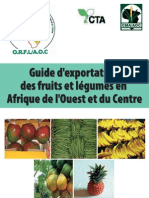 Guide Fruits Legumes