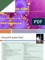 Tatalaksana Klinis MERS CoV-AvianInluenza,Dinkes2016