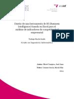 MIRET - Diseño de Una Herramienta de BI (Business Intelligence) Basada en Excel Para El Análisis ...