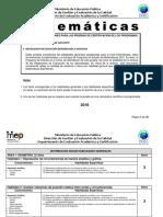 Matematicas Bachillerato 2018 1