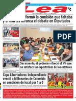 Periódico Lea Viernes 16 de Marzo Del 2018