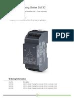Voltage Monitoring Series SM 301