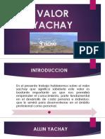 Valor Yachay Diapos