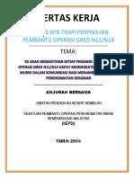 Kulit Depan Kertas Kerja BIL2 2018