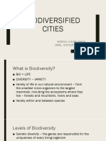 Biodiversified Cities