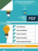 Contoh Ppt Seminar Proposal Manajemen Pemasaran Ilustrasi