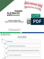Dr. Maya a. Rusady, M.kes - Implementasi PMK 36 Di BPJS Kesehatan