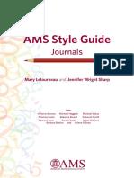 AMS StyleGuide Print