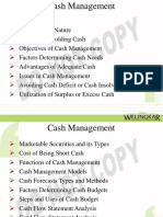 Cash Management 11012018