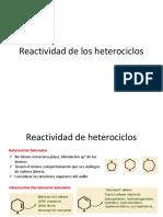 Aromatocidad y Heterociclos Aromáticos 2018-1