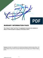 Bursary Information Pack 0f