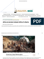 Africa & Ancient Ireland_ Africa to Iberia