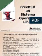 FreeBSD Un Sistema Operativo Libre