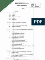 Indice Manual de Seguridad 2016