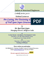 Technical Lecture by R. K. Gupta