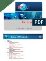 Full Adder Design