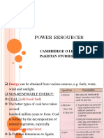 Power Resources