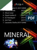 Kimpang Kel 4 Mineral Makro