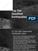 Deadliest Earthquake